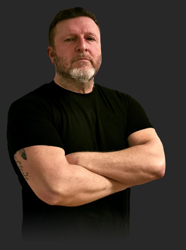 Diego La Mantia, istruttore di Krav Maga